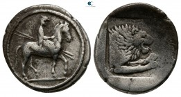 Kings of Macedon. Aigai. Perdikkas II 451-413 BC. Tetrobol AR
