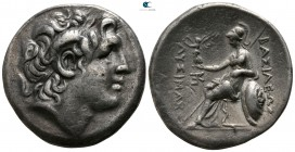 Kings of Thrace. Kyzikos. Lysimachos 305-281 BC. Tetradrachm AR