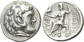 EASTERN EUROPE. Imitations of Alexander III 'the Great' of Macedon (3rd-2nd centuries BC). Tetradrachm.