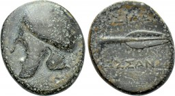 KINGS OF MACEDON. Kassander (316-297 BC). Ae. Uncertain Macedonian mint.