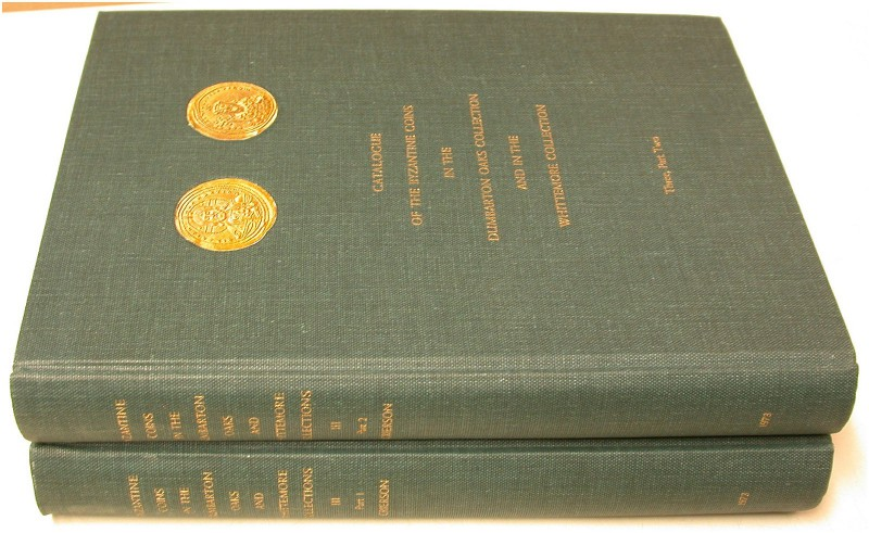 ANTIKE NUMISMATIK. DUMBARTON OAKS AND WHITTEMORE COLLECTIONS. Catalogue of the B...
