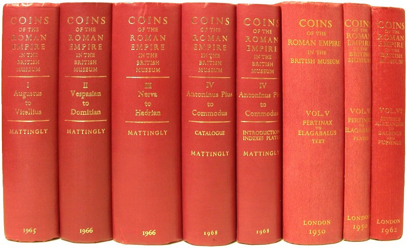 ANTIKE NUMISMATIK. MATTINGLY, H. Coins of the Roman Empire in the British Museum...