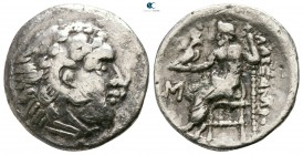 Eastern Europe. Imitations of Alexander III of Macedon . Imitations of Alexander III and his successors circa 300-200 BC. Drachm AR