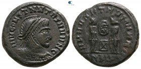 Celtic. Imitating of a Siscia mint issue. Constantinus I the Great circa AD 350-400. Follis Æ