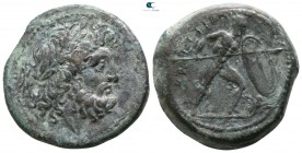 Bruttium. The Brettii circa 211-208 BC. Unit AE