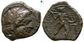 Sicily. Messana. The Mamertinoi circa 211-208 BC. Pentonkion or Pentachalkon Æ