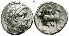 Eastern Europe. Lower Danube Region. Imitations of Philip II of Macedon circa 300 BC. Tetradrachm AR