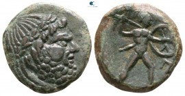 Sicily. Messana. The Mamertini circa 211-208 BC. Pentonkion Æ