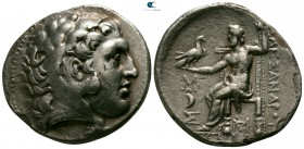 Kings of Macedon. Amphipolis. Antigonos II Gonatas 277-239 BC. In the name and types of Alexander III. Struck circa 277/6-275 BC. Tetradrachm AR