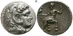 Kings of Macedon. Babylon. Philip III Arrhidaeus 323-317 BC. Struck circa 323-318/7 BC. Tetradrachm AR