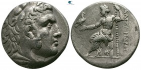 "Kings of Macedon. Possibly Pella. Alexander III ""the Great"" 336-323 BC. Struck circa 285-275 BC. Tetradrachm AR"