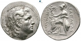 Kings of Thrace. Magnesia on the Maeander. Lysimachos 305-281 BC. Struck circa 297-281 BC. Tetradrachm AR