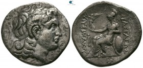 Kings of Thrace. Possibly Ainos. Lysimachos 305-281 BC. Tetradrachm AR