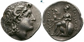 Kings of Thrace. Uncertain mint. Lysimachos 305-281 BC. Struck circa 297/6-282/1 BC. Tetradrachm AR