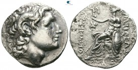Kings of Thrace. Uncertain mint. Lysimachos 305-281 BC. Struck circa 300-250 BC. Tetradrachm AR