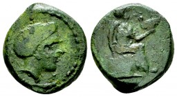 Terina AE14, c. 350-275 BC 