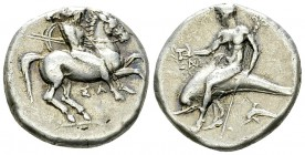 Tarentum AR Nomos, c. 332-302 BC 