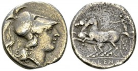 Cales AR Didrachm, c. 265-240 BC 