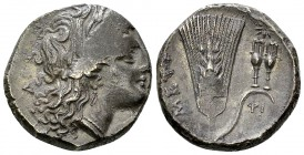 Metapontum AR Nomos, c. 290-280 BC 