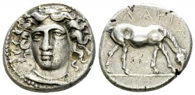 Larissa AR Drachm, early to mid 4th century BC 