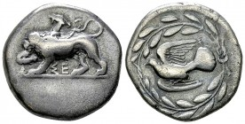 Sicyon AR Stater, c. 400 BC 
