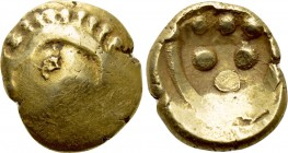 "CENTRAL EUROPE. Germany. Vindelici (2nd-1st centuries BC). GOLD Stater. ""Rolltier"" type."