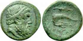 KINGS OF THRACE (Celtic). Kavaros (Circa 230/25-218 BC). Ae. Kabyle.