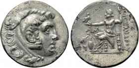 KINGS OF MACEDON. Alexander III 'the Great' (336-323 BC). Fourrée Drachm. Imitating Temnos.