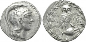 ATTICA. Athens. Tetradrachm (142/1 BC). New Style Coinage. Deme- and Hiero-, magistrates.