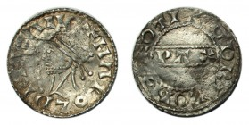 GREAT BRITAIN. Harold II, 1066. Penny , PAXS type, Thetford mint, moneyer Godric, +HAROLD REX ANG, rev. +GODRIC ON ÐEOTI, 1.29g, S.1186, N.836. Some l...