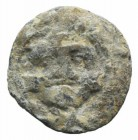Sicily(?), PB Seal, c. 4th-3rd century BC (12mm, 3.35g). Gorgoneion / Blank.