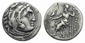 Kings of Macedon, Antigonos I Monophthalmos (Strategos of Asia, 320-306/5 BC, or king, 306/5-301 BC). AR Drachm (17mm, 4.18g, 11h). In the name and ty...