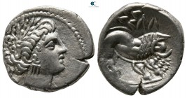 Gaul. Uncertain mint in Cisalpine Gaul 200 BC. Insubres (Imitating Massalia). Drachm AR
