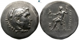 Kings of Macedon. Myrina. In the name and types of Alexander III of Macedon  circa 188-170 BC. Tetradrachm AR