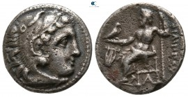 Kings of Macedon. Kolophon. Philip III Arrhidaeus 323-317 BC. Struck under Menander or Kleitos, circa 322-319 BC. Drachm AR
