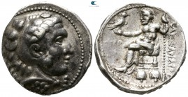 Kings of Macedon. Tyre. Philip III Arrhidaeus 323-317 BC. Tetradrachm AR