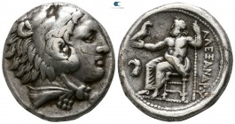 "Kings of Macedon. Amphipolis. Alexander III ""the Great"" 336-323 BC. Struck under Antipater, circa 332-326 BC. Tetradrachm AR"