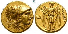 "Kings of Macedon. Lampsakos. Alexander III ""the Great"" 336-323 BC. Stater AV"