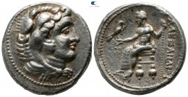 Kings of Macedon. Tyre. In the name and types of Alexander III of Macedon  336-323 BC. Tetradrachm AR