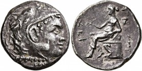 TAURIC CHERSONESOS. Chersonesos. Circa 210-200 BC. Drachm (Silver, 19 mm, 4.78 g, 12 h), Menestra..., magistrate. Head of Herakles to right, wearing l...