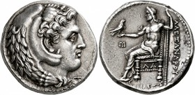 KINGS OF MACEDON. Alexander III 'the Great', 336-323 BC. Tetradrachm (Silver, 25 mm, 17.08 g, 11 h), Susa, struck under Koinos, circa 322-320 BC. Head...