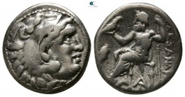 "Kings of Macedon. Magnesia ad Maeandrum. Alexander III ""the Great"" 336-323 BC. Struck circa 319-305 BC. Drachm AR"