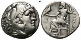 "Kings of Macedon. 'Teos'. Alexander III ""the Great"" 336-323 BC. Struck circa 310-301 BC. Drachm AR"