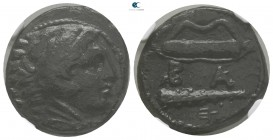 "Kings of Macedon. Uncertain mint. Alexander III ""the Great"" 336-323 BC. Lifetime-early posthumous issue. Unit Æ"
