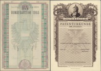 "Austria: set of 5 different design trials for bonds or obligations of the ""Wiener Staatsdruckerei"" (Austria State Printing Works) mostly handdrawn des..."