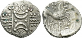 BRITAIN. Iceni. Ecen (Circa 25-38). Unit. Stepping Horse type.