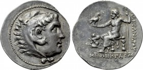 KINGS OF MACEDON. Alexander III 'the Great' (336-323 BC). Tetradrachm. Chios. Menekrates, magistrate.