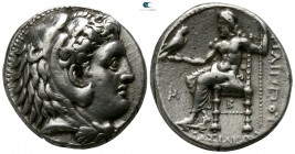 Kings of Macedon. Babylon. Philip III Arrhidaeus 323-317 BC. Struck under Archon, Dokimos, or Seleukos I, circa 323-318/7 BC. Tetradrachm AR