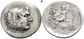 "Kings of Macedon. Mesembria. Alexander III ""the Great"" 336-323 BC. Struck circa 125-65 BC. Tetradrachm AR"