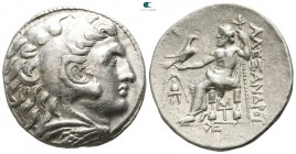 "Kings of Macedon. Pella. Alexander III ""the Great"" 336-323 BC. Struck circa 275-270 BC. Tetradrachm AR"